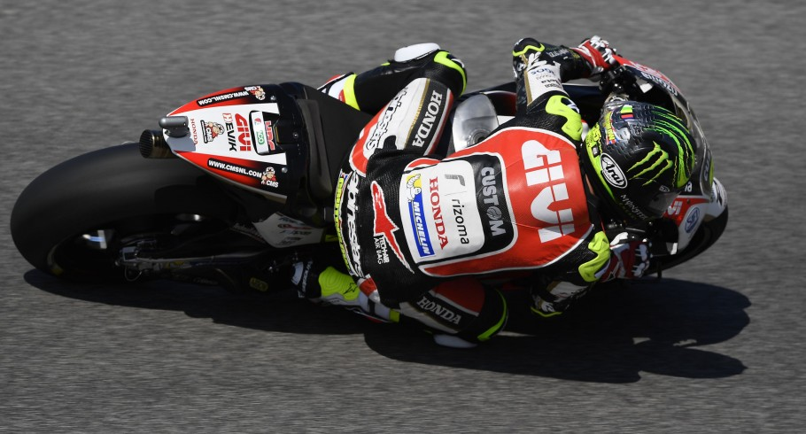 Cal Crutchlow at the 2017 Grand Prix of Italy