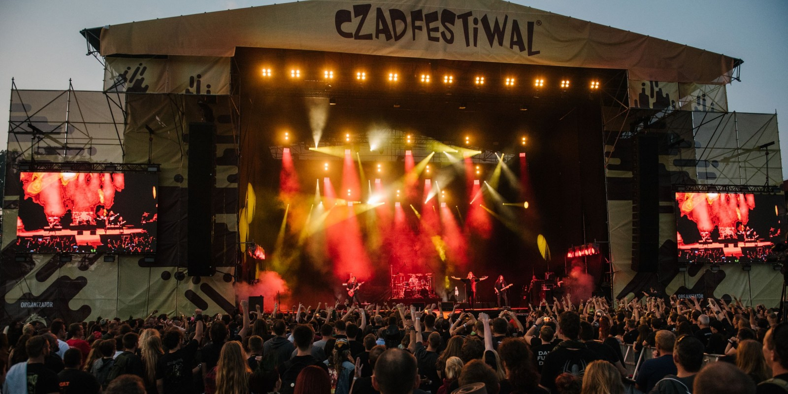 Czad Festival - main music stage