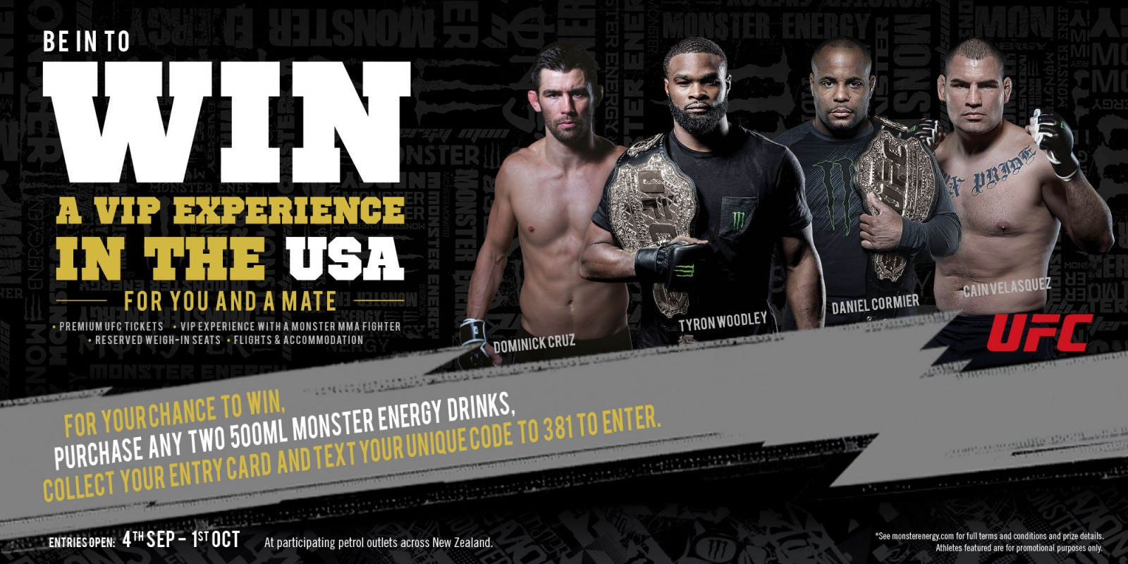 Win A Vip Ufc Experience In The Usa
