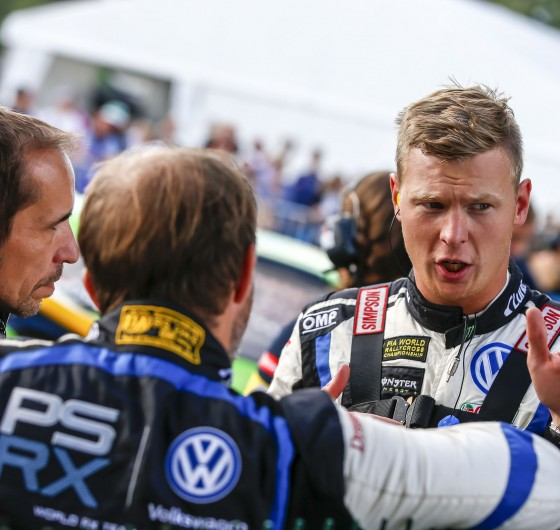 Saturday images from the 2017 World RX of France