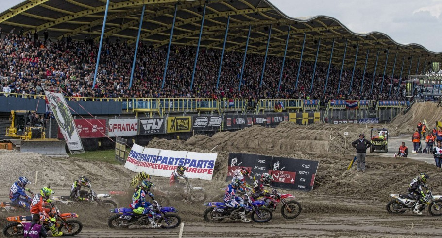 Romain Febvre at the 2017 Grand Prix of the Netherlands