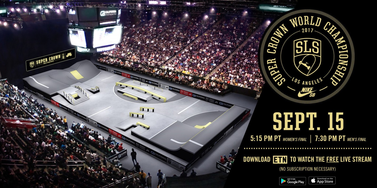 Promotion for the 2017 Street League Series at Los Angeles, CA