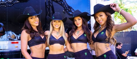 Images of branding in activation Stagecoach 2017
