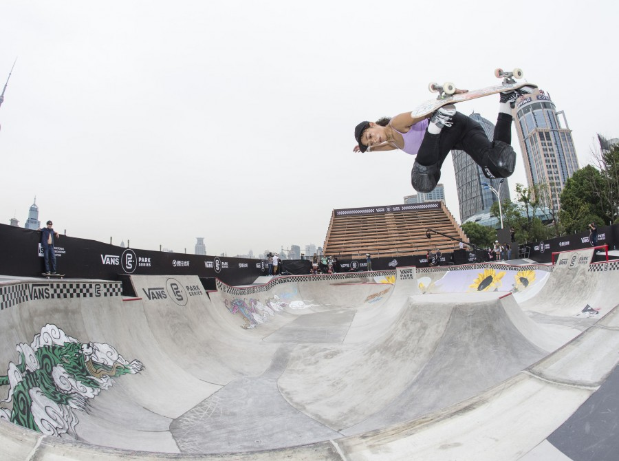 Image from the Vans Park Series World Championships in Shanghai
