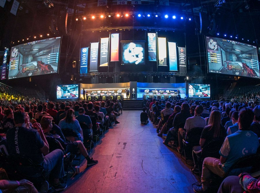 Photos of Team Liquid CSGO and Street Fighter at ESL ONE New York at the Barclays Center in Brooklyn, NY