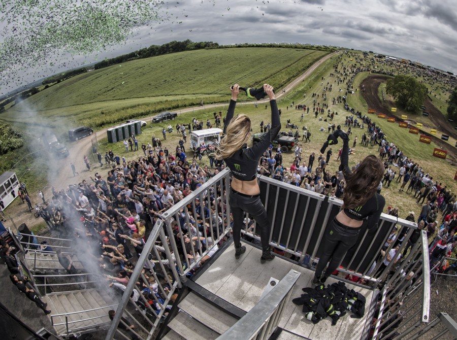 Behind-the-scenes from the 2016 MXGP of Great Britain