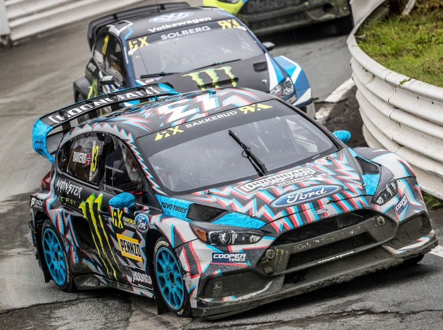 Saturday images from the 2017 World RX of Germany - Round 11
