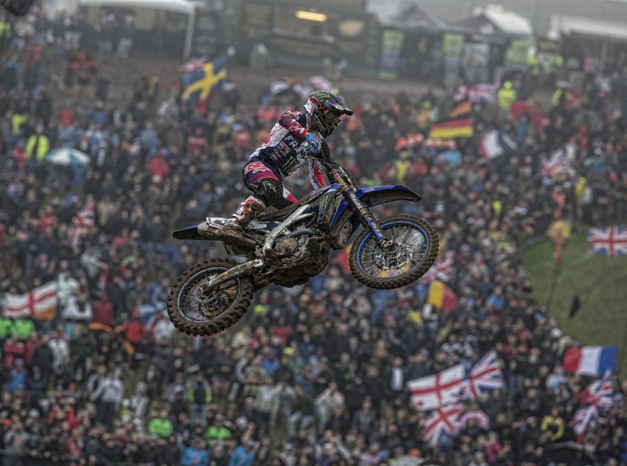 Monster athletes compete in the 2017 MXoN in Matterly Basin