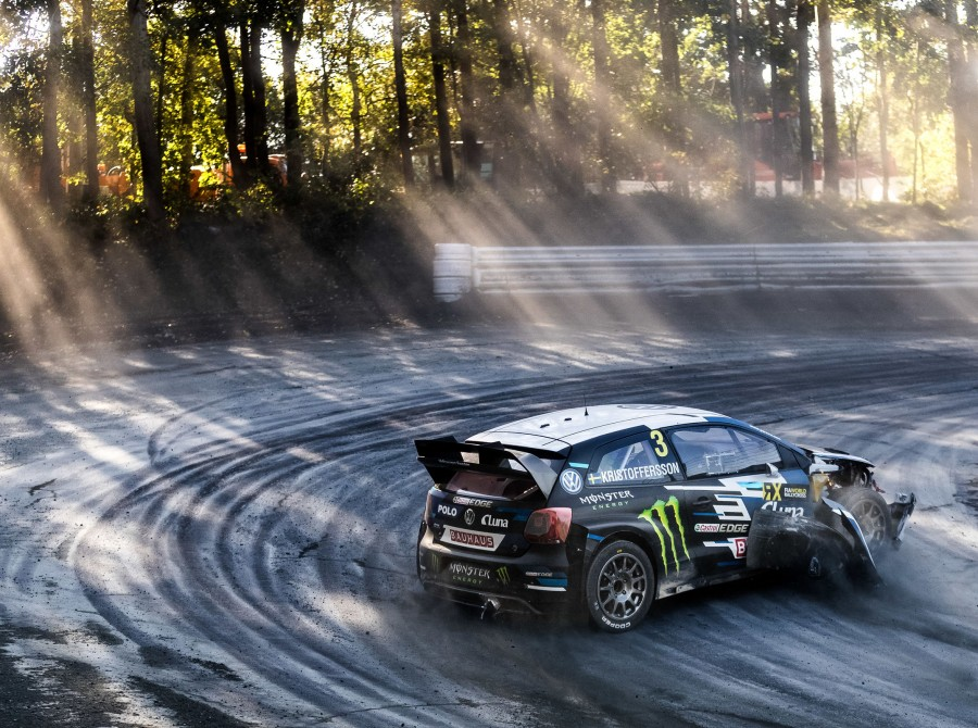 Sunday images from the 2017 World RX of Germany at the Estering