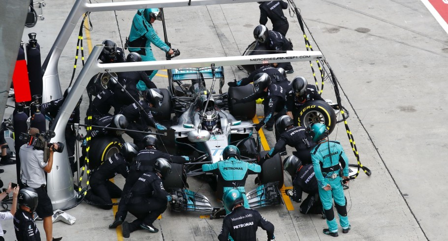 Sunday images from the 2017 Malaysian Grand Prix