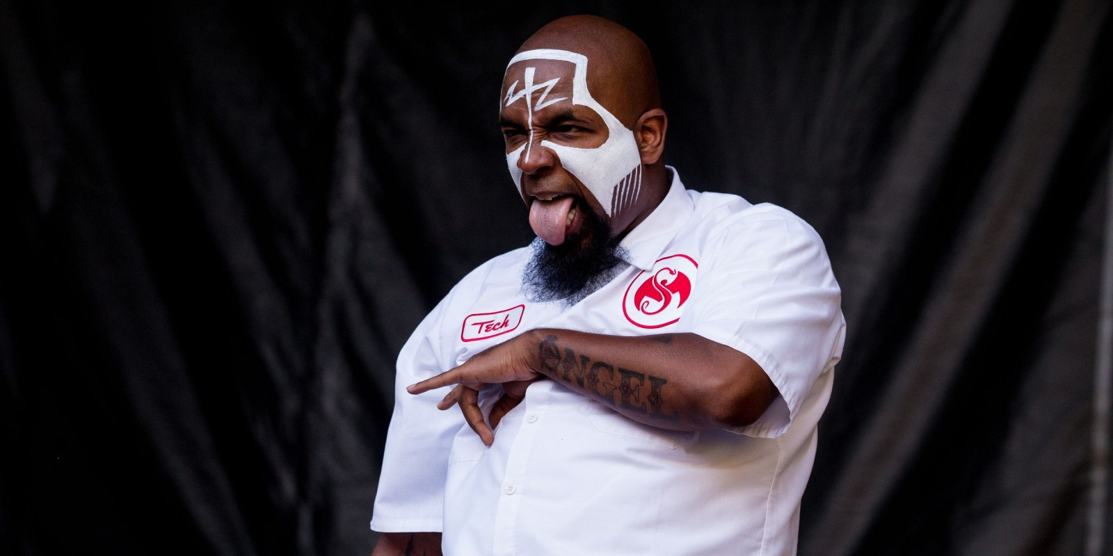 Tech N9ne at the 2014 Aftershock music festival in Sacramento, CA