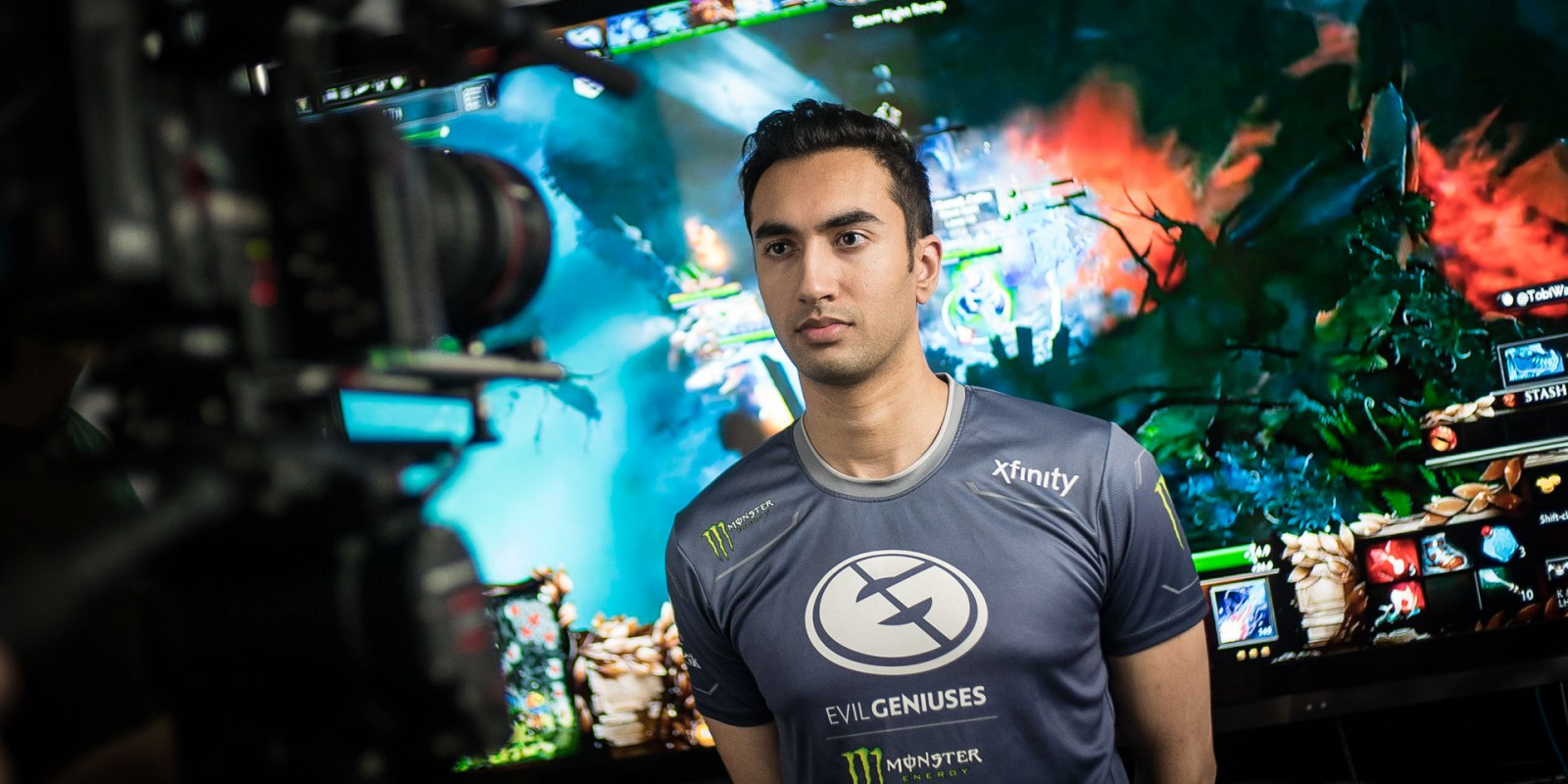 Behind the scenes photos from the UNiVeRsE Interview at the Evil Geniuses house.