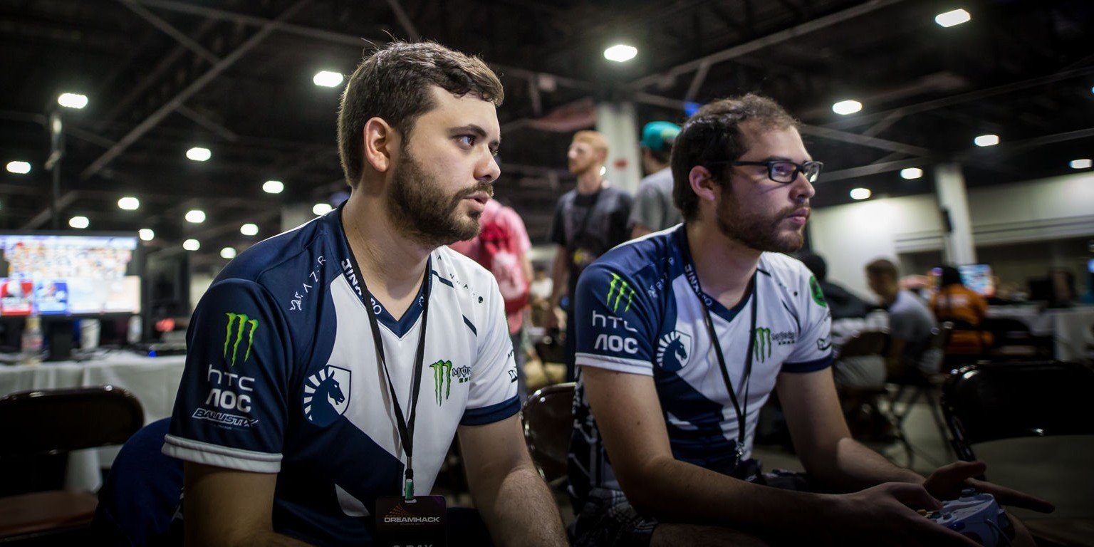 Photos of Team Liquid's Fighting Games players at Dreamhack Atlanta