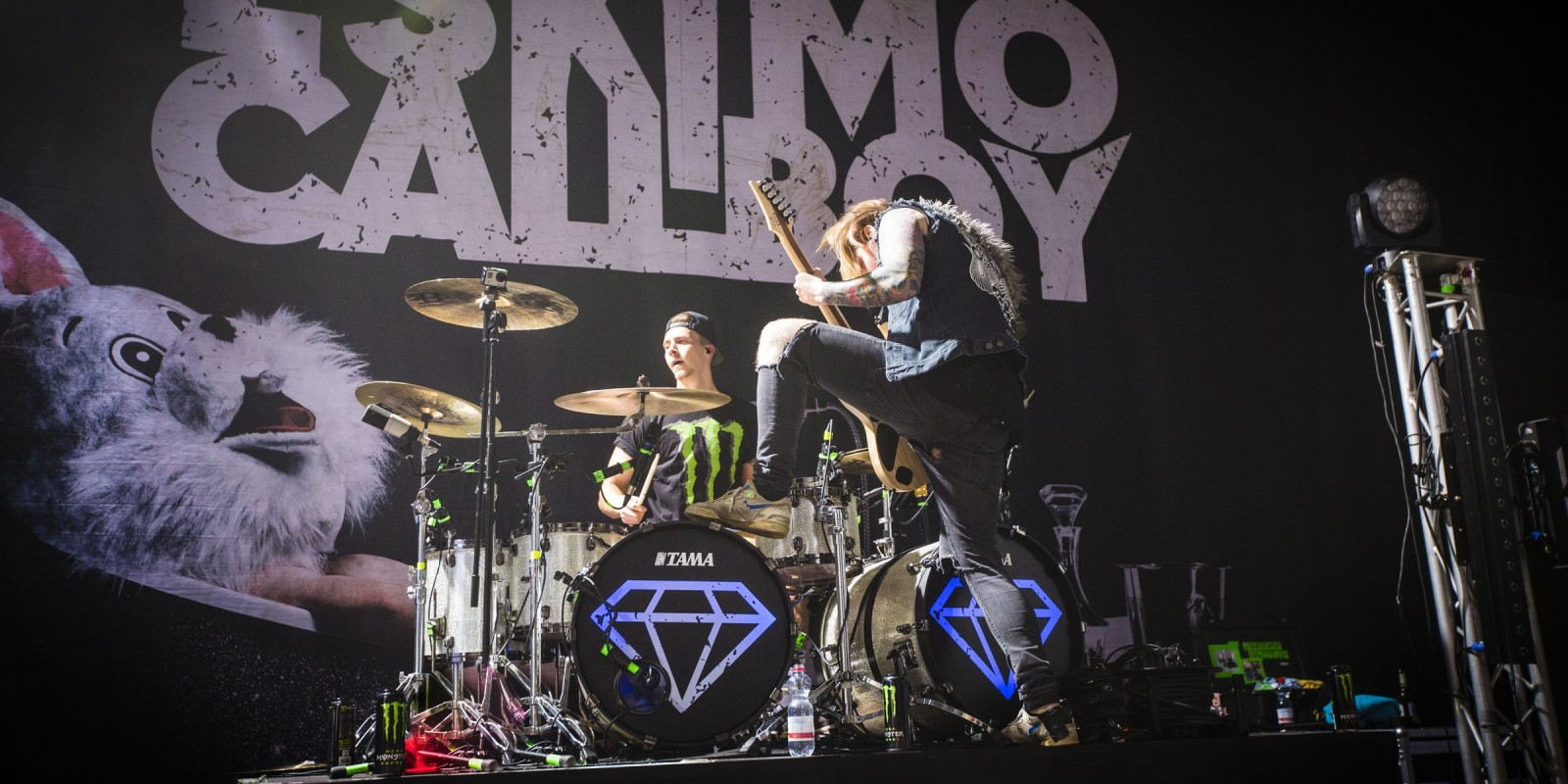 Eskimo Callboy on their European Tour in Dortmund.