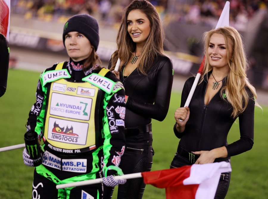 Monster Girls at the final of the Speedway GP in Torun