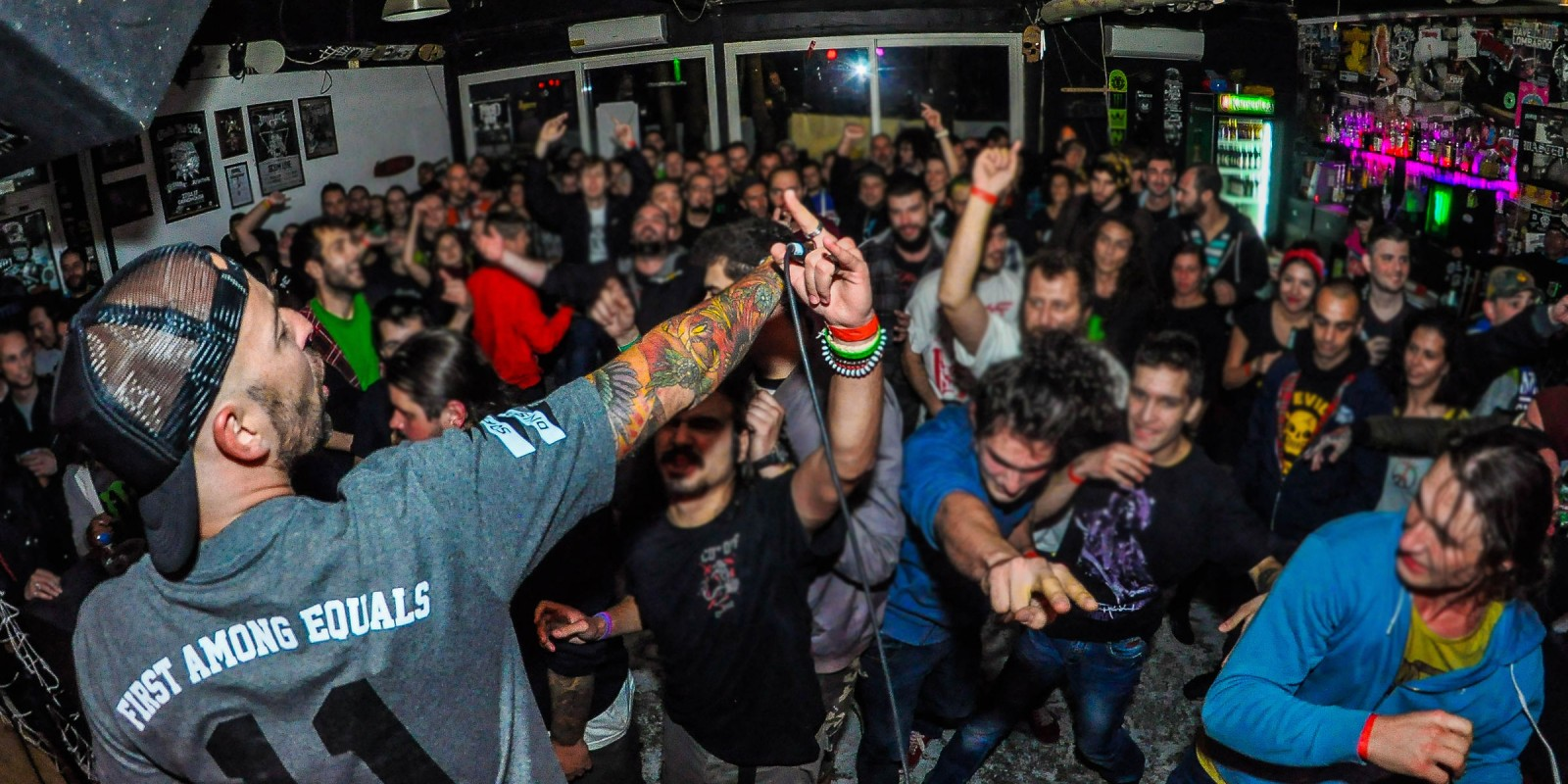 Wasted Fest is a punk and hardcore festival in Sofia, Bulgaria supported by Monster Energy