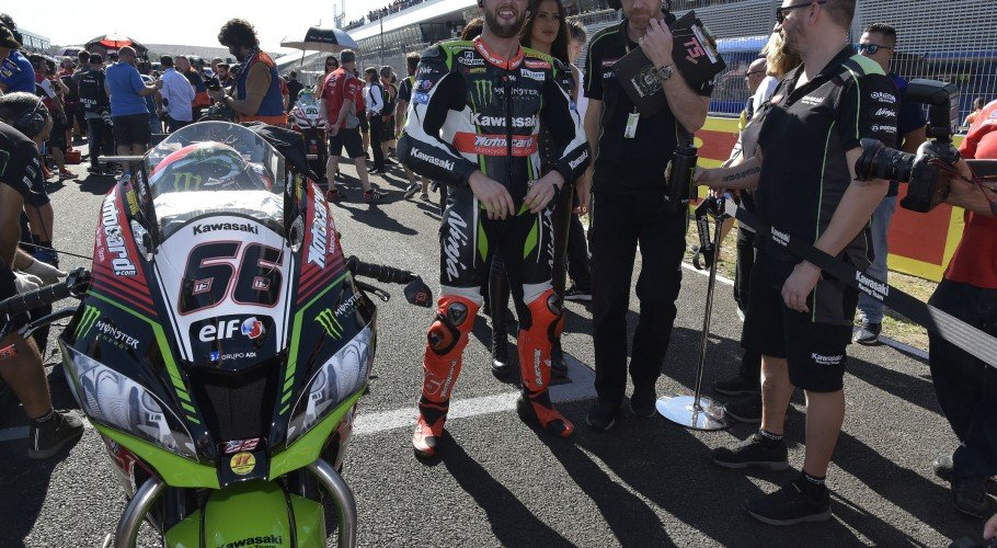 Tom Sykes at the 2017 World Superbike Spanish round