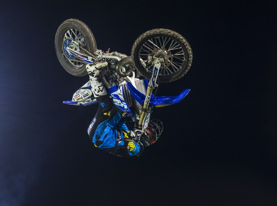 Jarryd McNeil at Monster Energy Cup during the Dirt Shark Biggest Whip