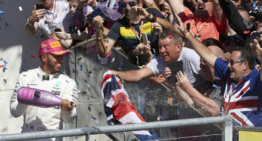 Sunday images from the 2017 USA F1 Grand Prix