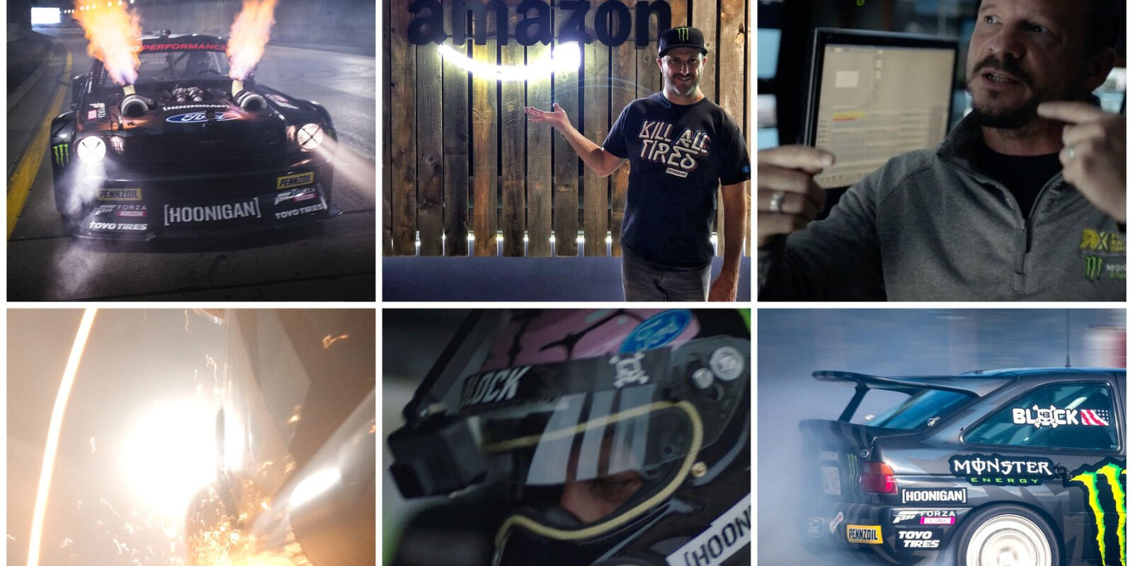 Images from the Trailer of Ken Block's Gymkhana 10