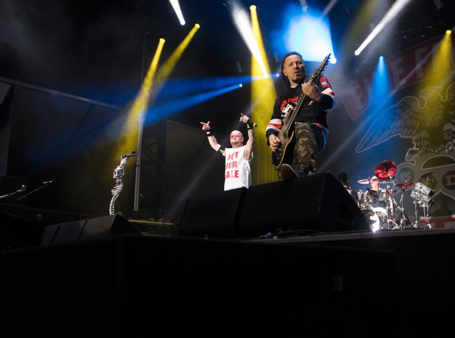 Five Finger Death Punch at Aftershock Festival 2017 in Sacramento, CA
