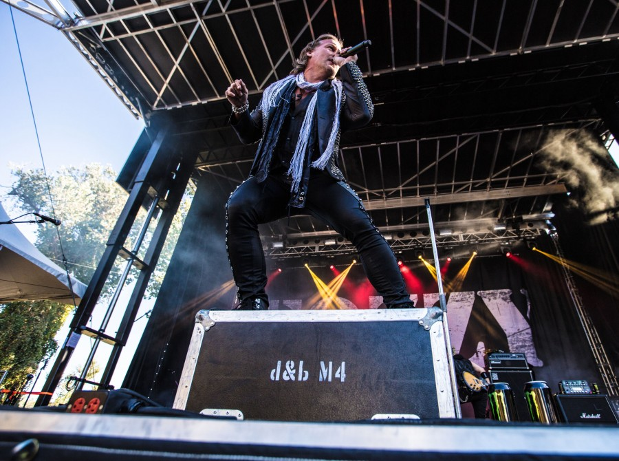 Fozzy at the Aftershock Festival 2017 in Sacramento, CA
