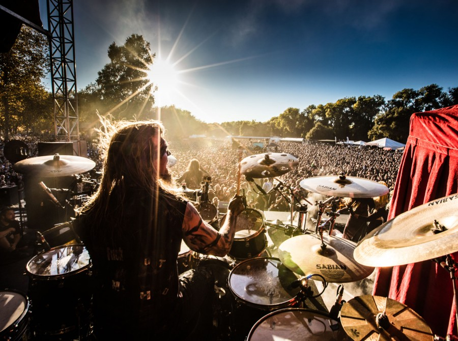In This Moment at Aftershock Festival 2017 in Sacramento, CA