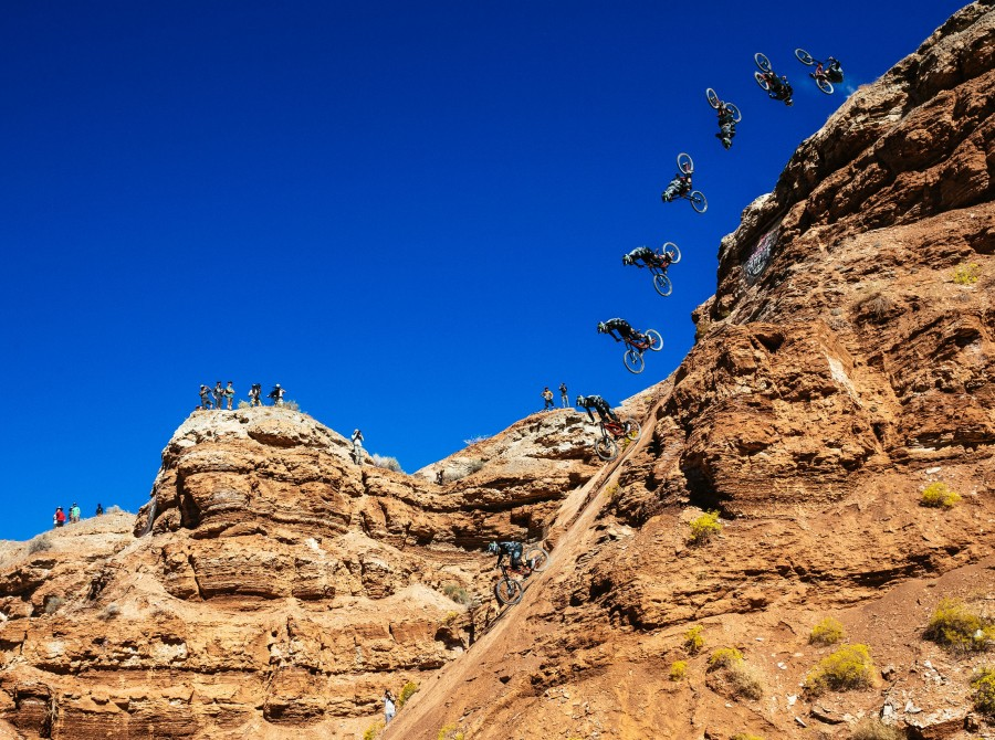 Images of Cam Zink at Rampage in Utah