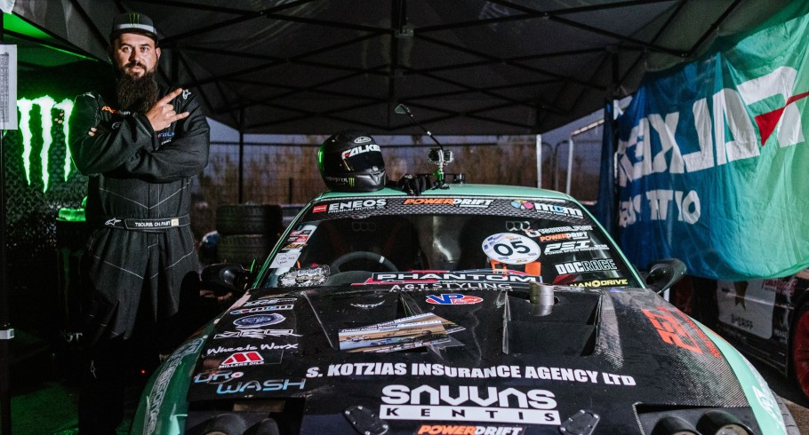 Photos during MDC Drift in Athens GR, feat ME Drift driver from CY Charalampos (Pampos) Tsouri