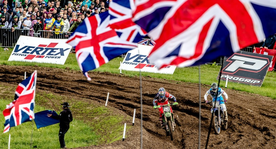 Qualifying rounds at Matterley Basin MXON