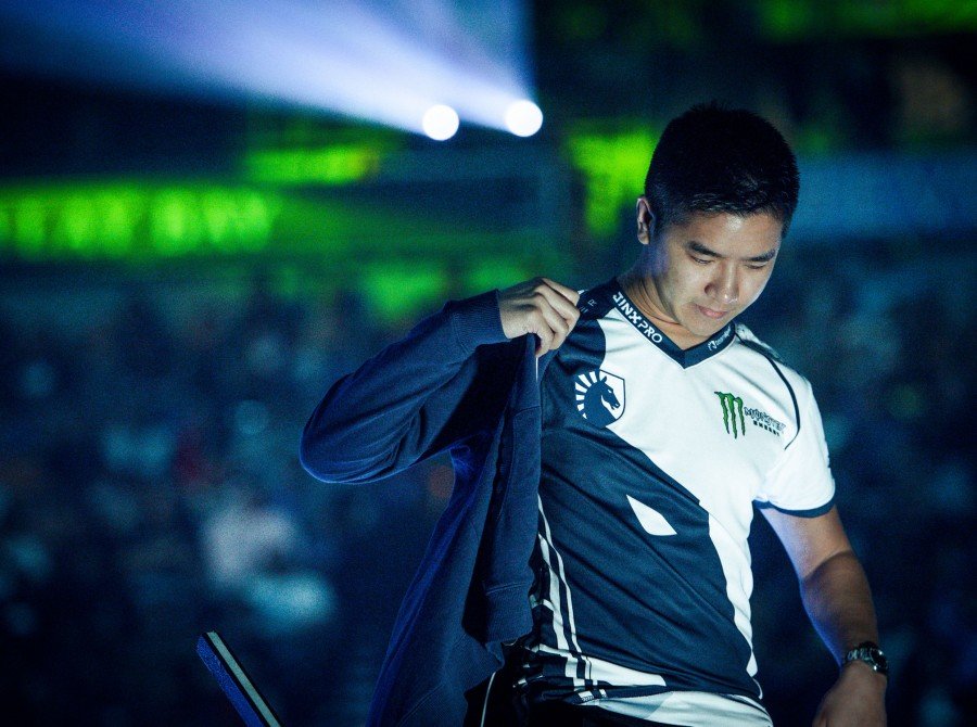 Photos of the Team Liquid Fighting Games players at EVO 2017 in Las Vegas, Nevada