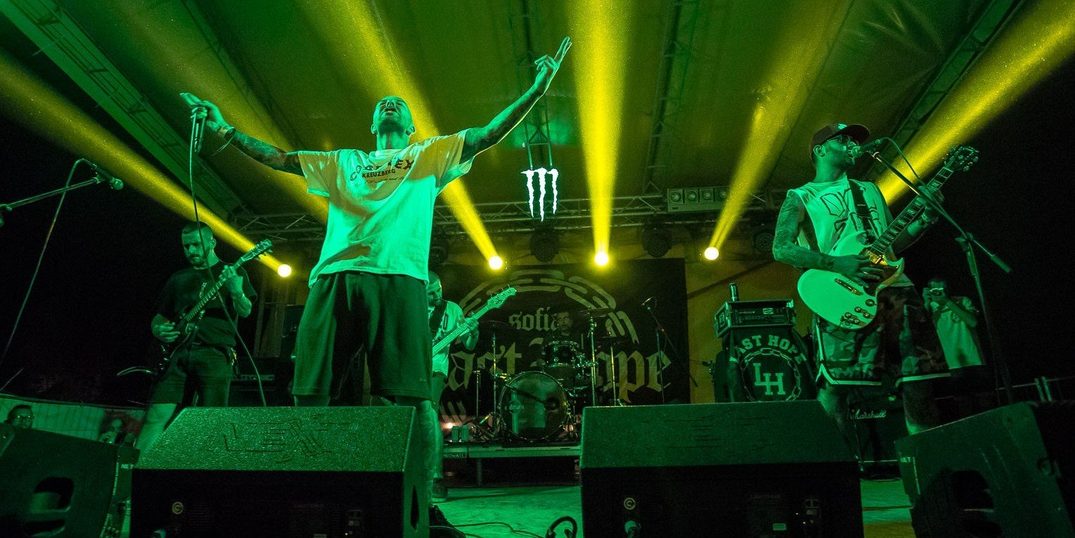 Imagery from Rockstadt Extreme Fest 2017. We had a local band in the event - Diamonds Are Forever and a Bulgarian band also - Last Hope. Both bands and event have a fully executed contract.