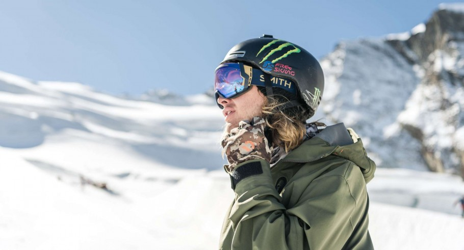 David Wise in Saas-Fee during media day.