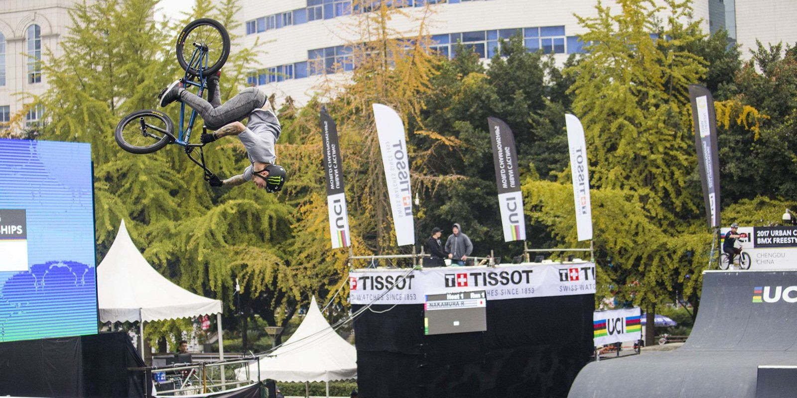 Image from the FISE World Series in Chengdu, China