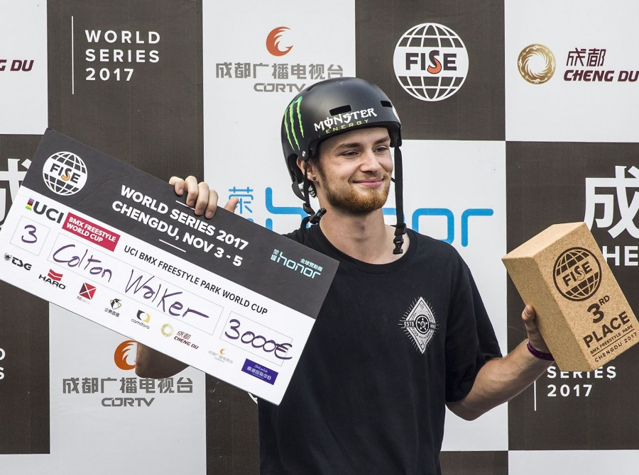 Go Pro video of Colton Walker POV from FISE World Series in China.