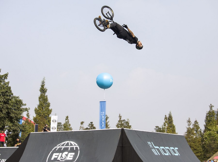 Shots from FISE World Series in China.