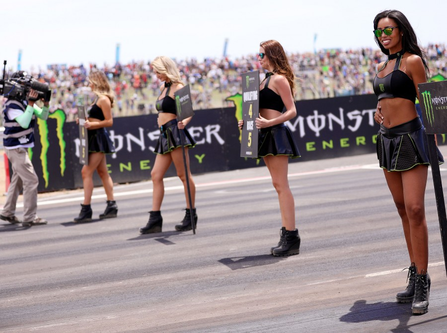 Monster Girls at the Cape Town Rally X