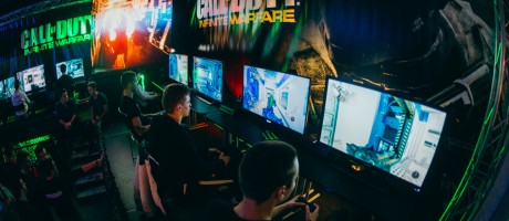 Reboot Infogamer Croatian biggest gaming fair in Zagreb and promotion of Call of Duty Infinite Warfare