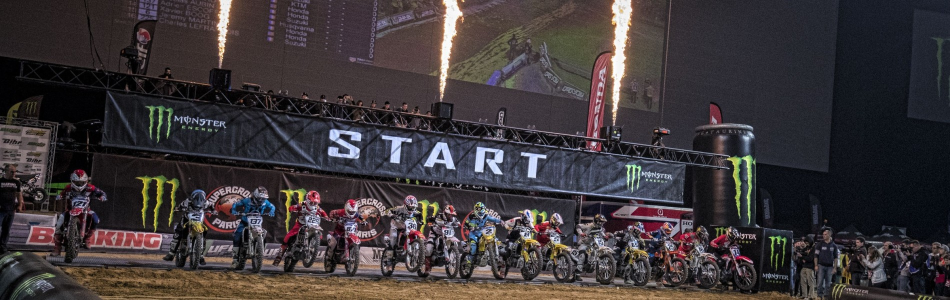 Paris Thunders To The Sound Of Supercross Once More