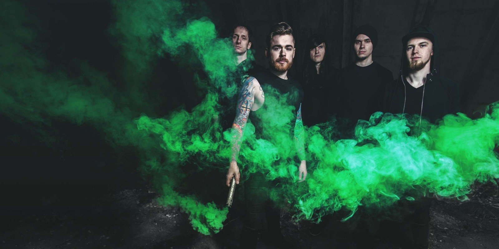 Photoshoot with our band - Chasing The Rise