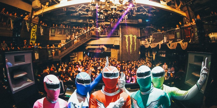 2017 MEK Halloween party with Monster Energy at Club Octagon, on October 27th, 2017.