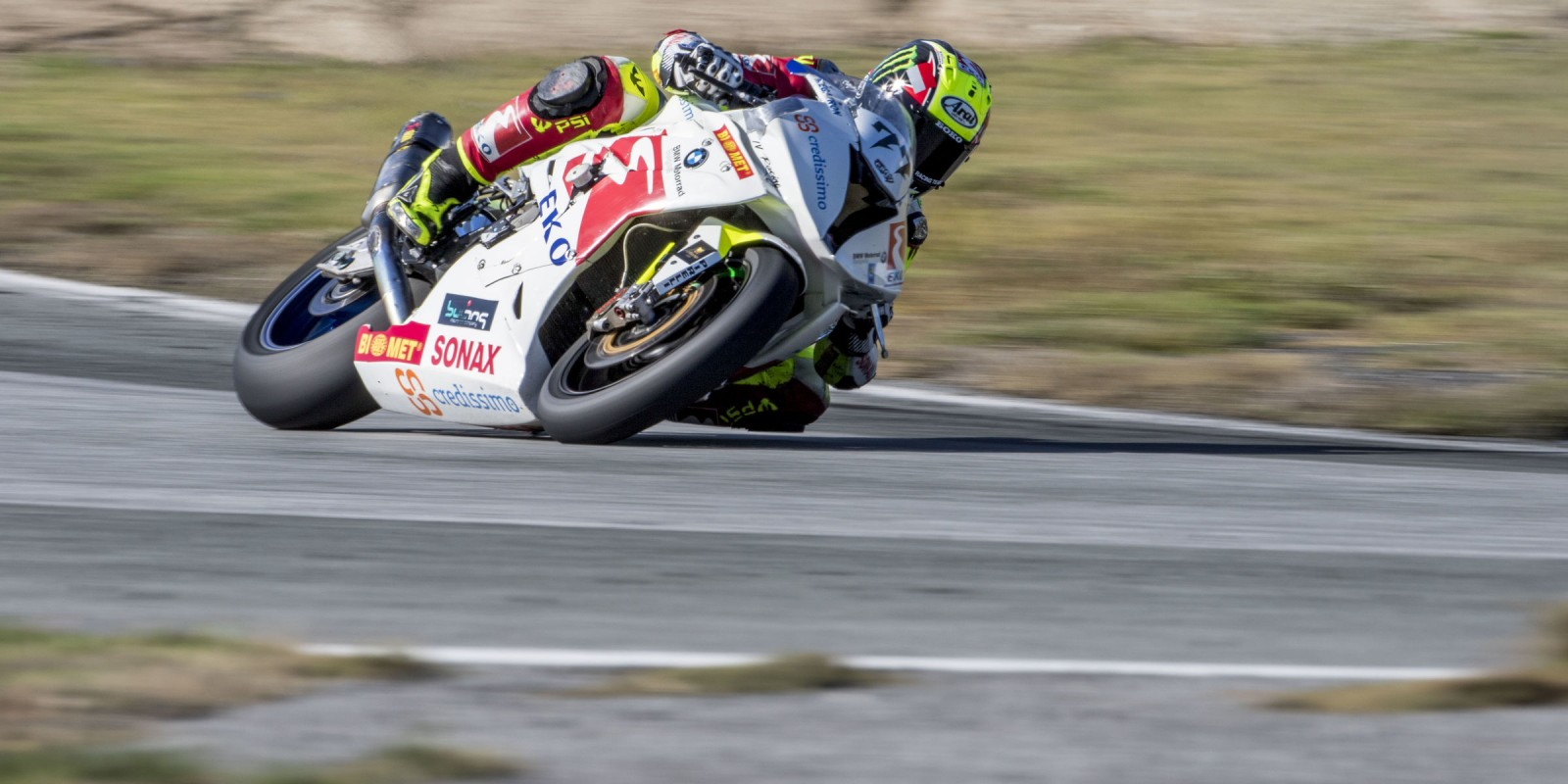 The supported by ME athlete Martin Choy raced at the final round of the motorcycle season in Seres, Greece.