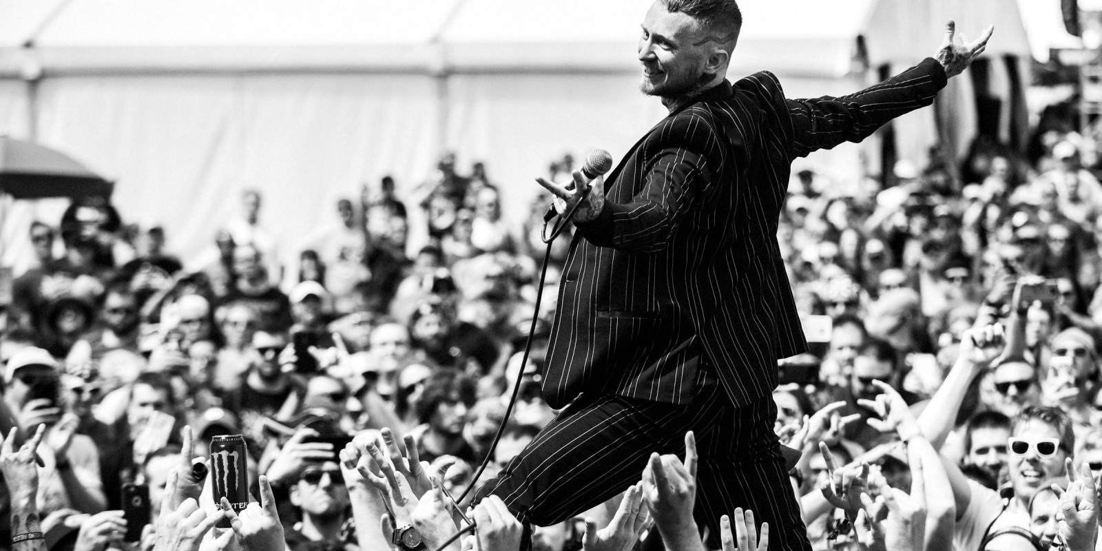 Frank Carter and the Rattlesnakes Rock On The Range Festival 2017 edits