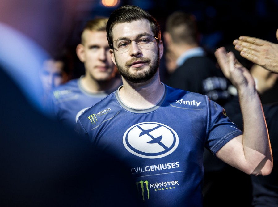 Photos of Evil Geniuses Dota 2 at the ESL ONE Hamburg Major