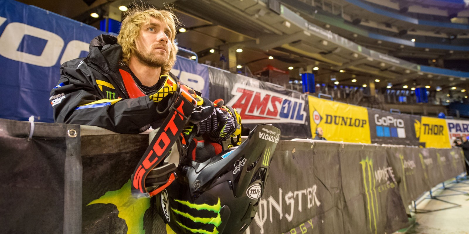 Barcia action shots at the 2017 Supercross championship in Toronto