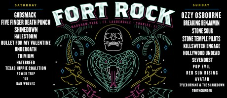 Fort Rock Festival 2018 artwork