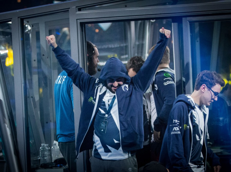 Pictures of Team Liquid Dota 2 at the International 2017 in Seattle, WA