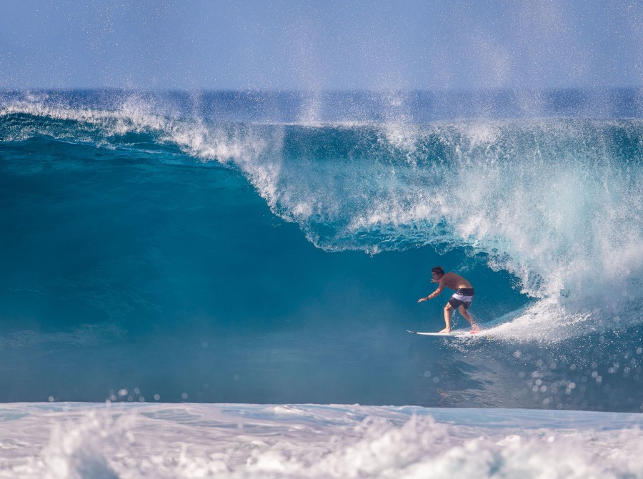 Surf shots from This Way In, Hawaii.