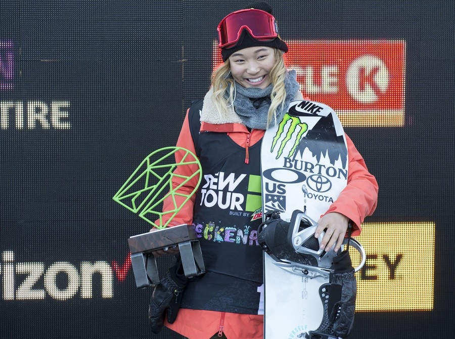 Chloe Kim secures spot on her first Olympic team with Dew Tour victory
