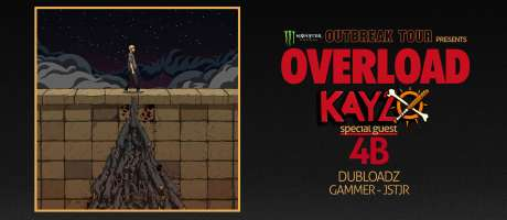 assets for 2018 Monster Energy Outbreak Tour EDM edition featuring Kayzo